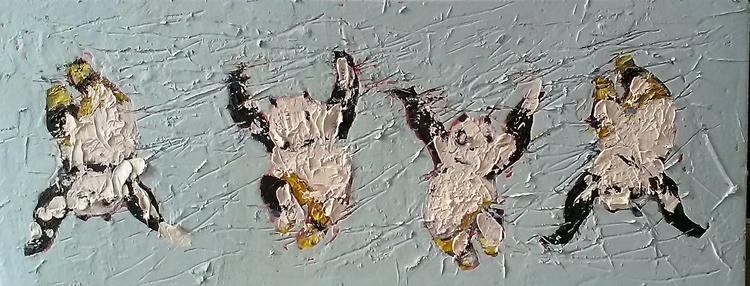 panda painting - kunst, luxury, otaku - ivicacapan | ello