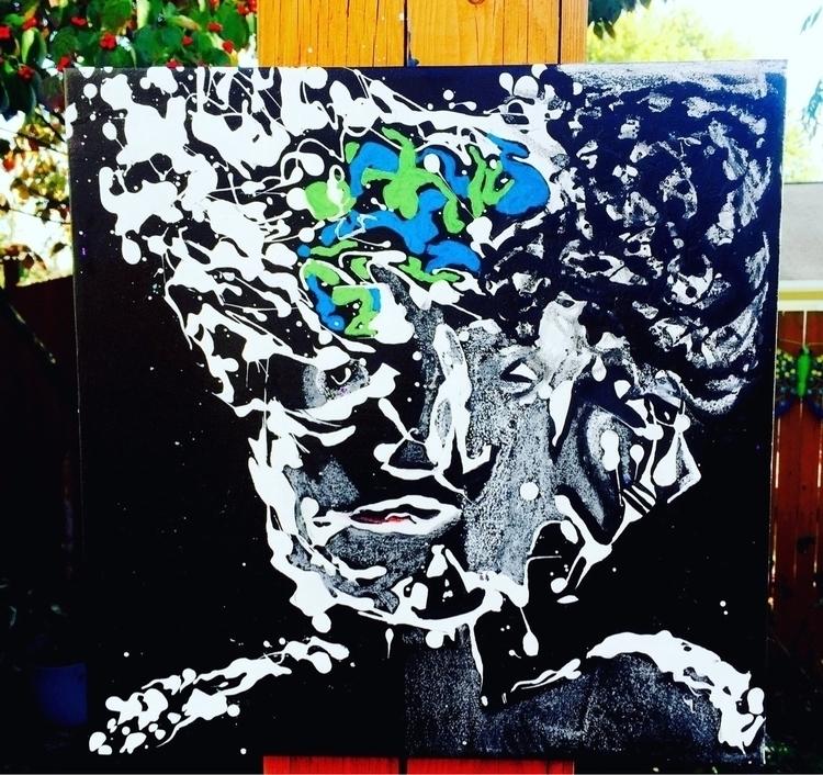 Faced -#modernart - abstractart - nash-heff | ello