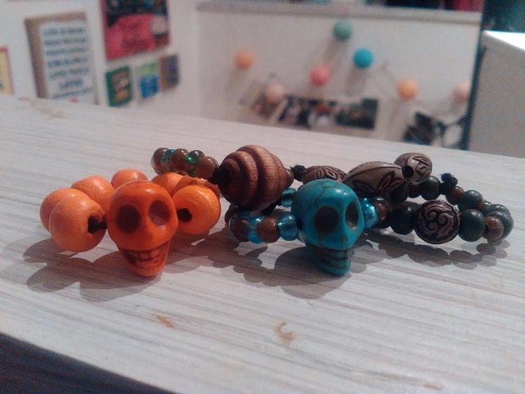 spooky rings Halloween - diy, jewellery - ruthohaganartist | ello