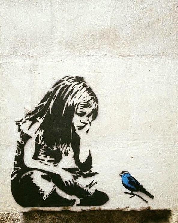 StreetArt, artoftheday, artwork - bitfactory   ello