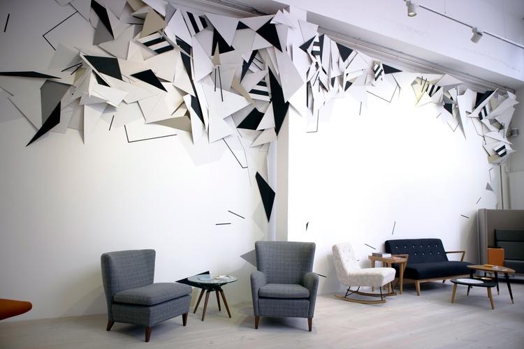 'Surface' Installation - Paint - markmcclurestudio | ello