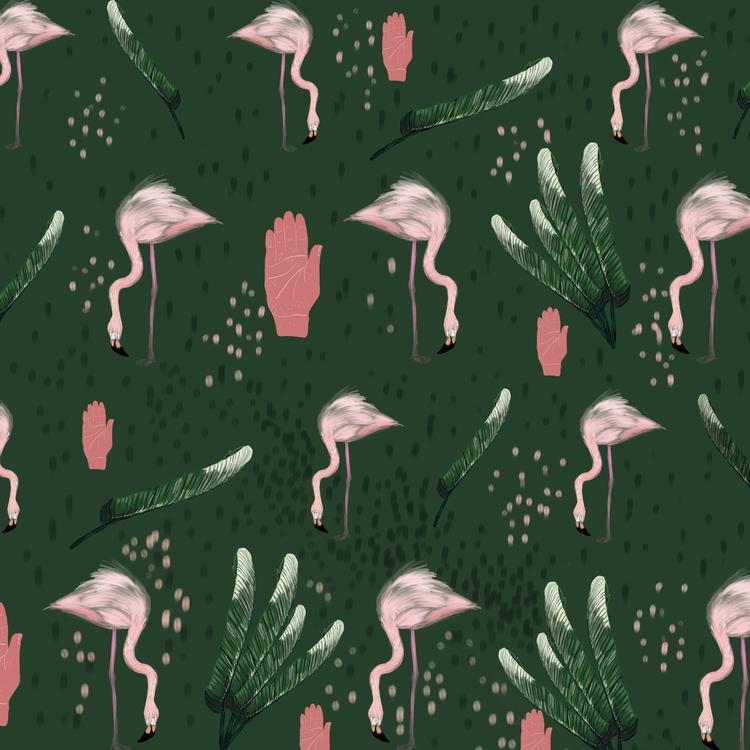 Pattern design inspired nature  - stefaniatejada | ello