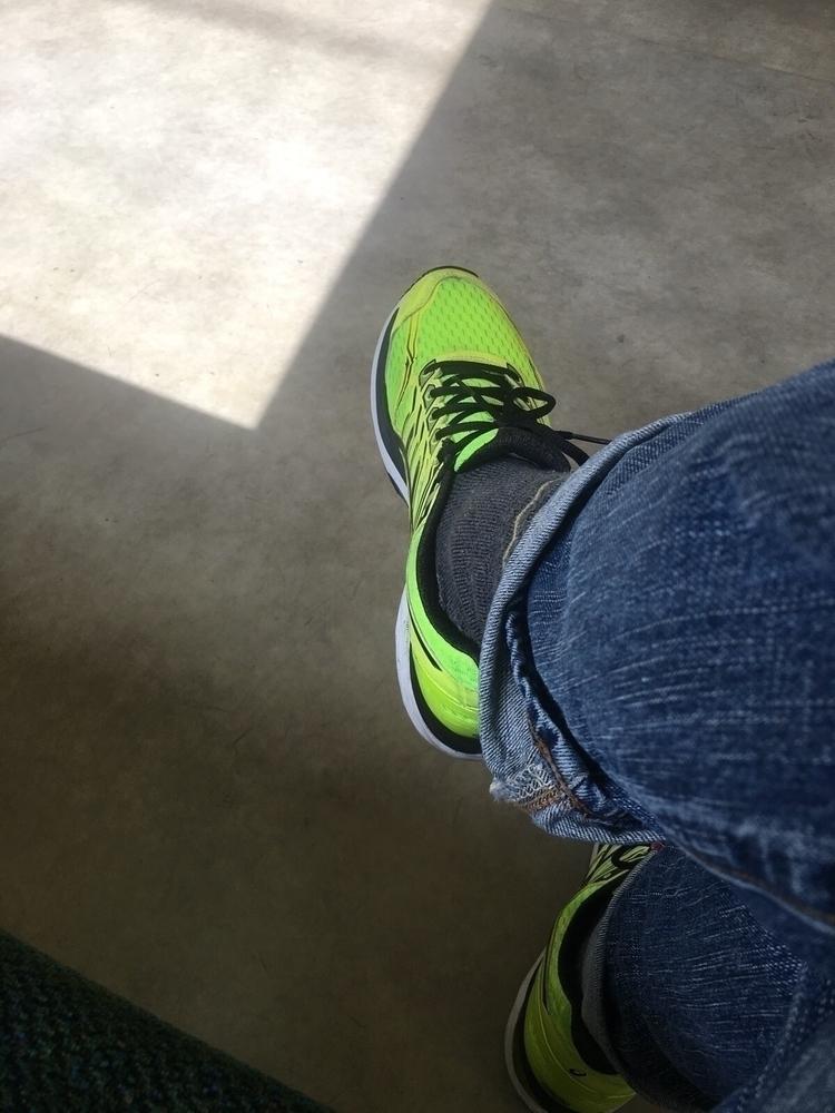 bright running shoes feet hurt - tom_magee | ello