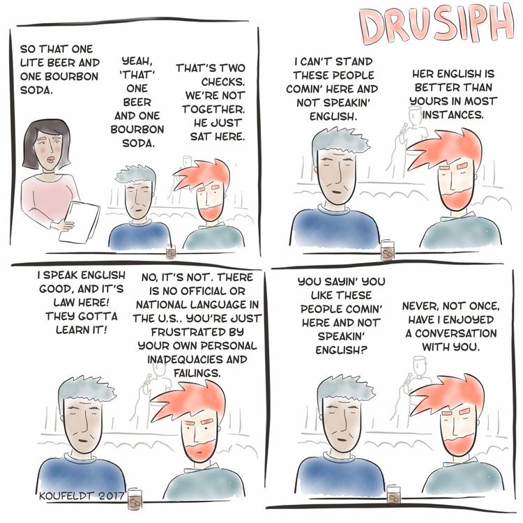drusiph, monday, comic, comicstrip - drusiph | ello