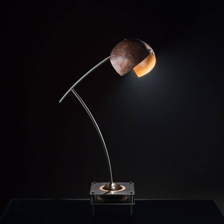 Desk lamp . Copper steel Ph: Fe - ferruccio-maierna | ello