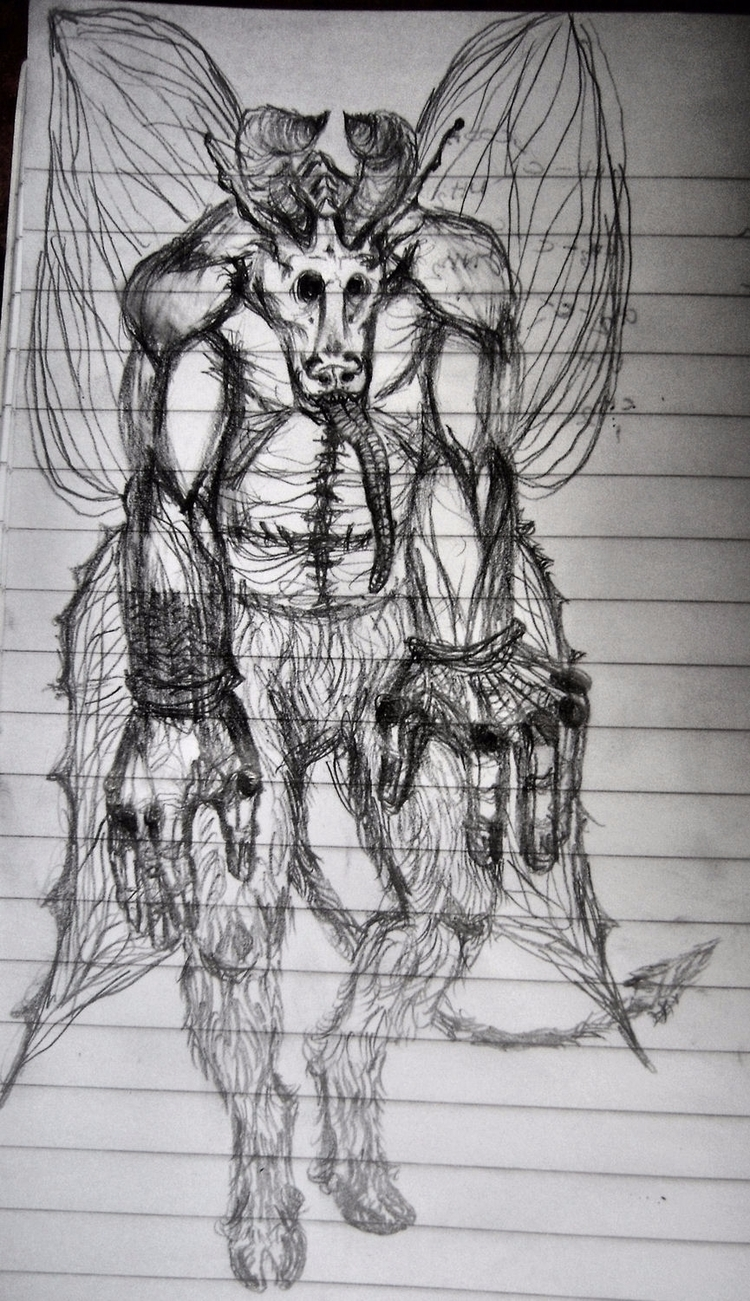 pretty devil doodle - mesencephaleisole | ello