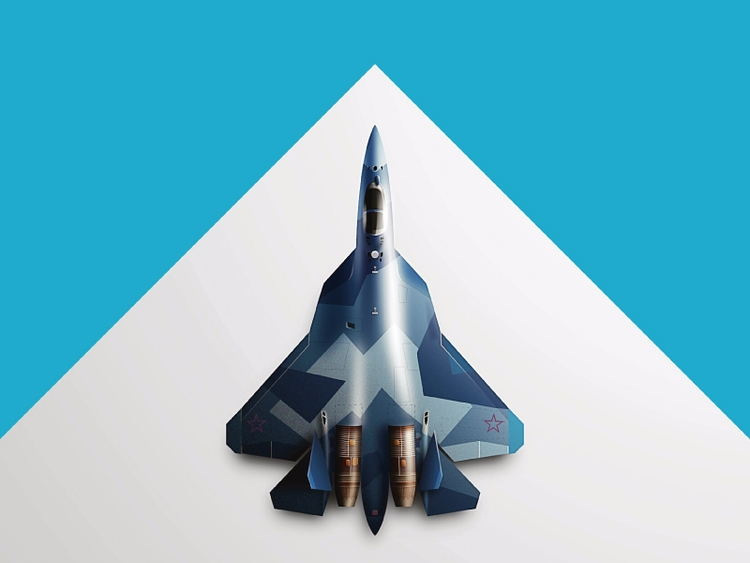 Fighter Jet Sukhoi decide leave - kirp | ello