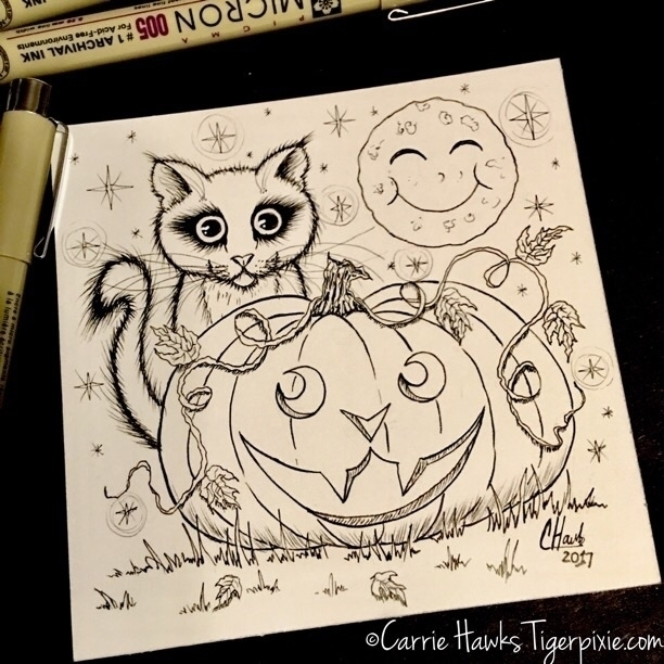 Happy Halloween!! :smiling_imp - tigerpixie | ello