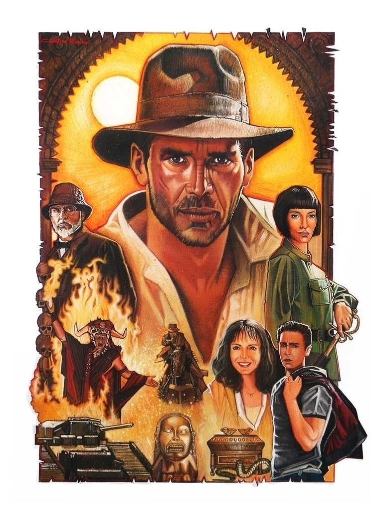 Indiana Jones Saga Tempera, Acr - christianromani   ello