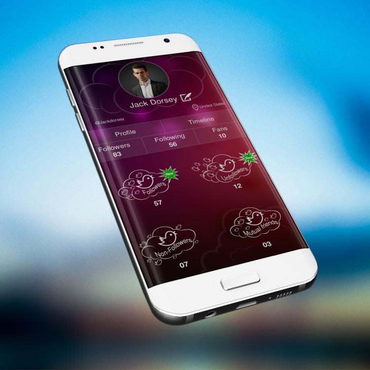 Twitter mobile app design  - john1cse | ello