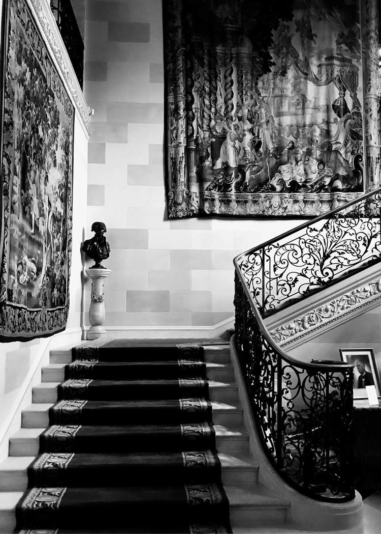Stairwell mansion - blackandwhitephotography - nikonkenny | ello