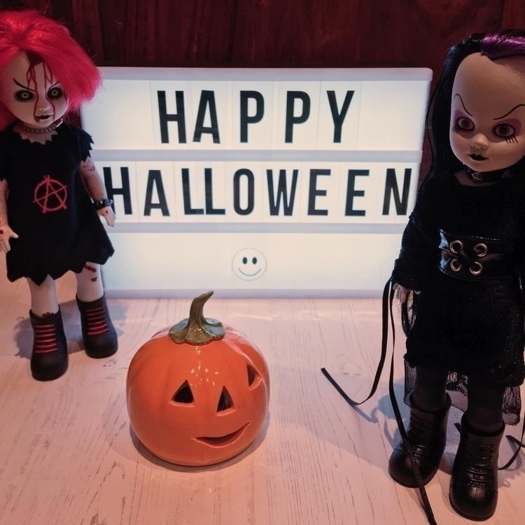Penny Tragedy Happy Halloween - lorriewhittington | ello