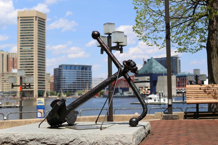 Anchor, Baltimore City. Baltimo - vujadav17 | ello