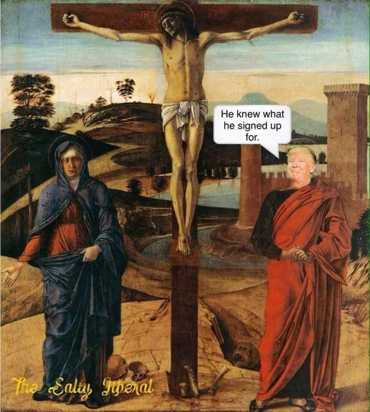Jesus, DonaldTrump - polofresh | ello
