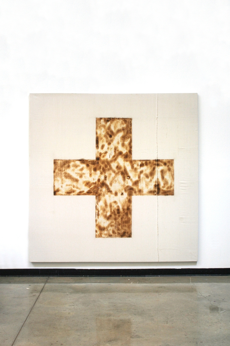 Cross Killed Bear Milk canvas.  - terriffico | ello