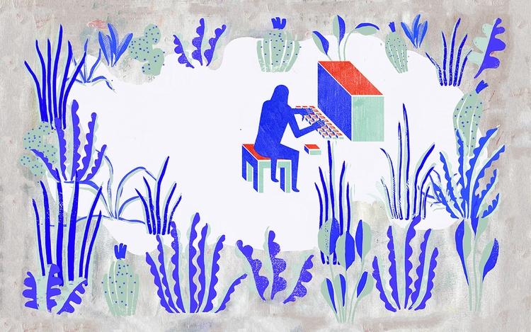 berlin based illustrator, multi - juliaschwarzillustration | ello