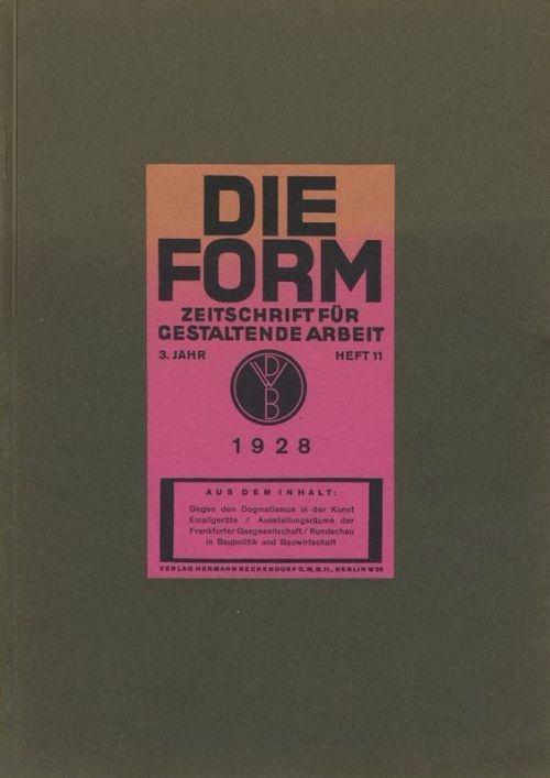 Cover Die Form: Zeitschrift für - p-e-a-c | ello
