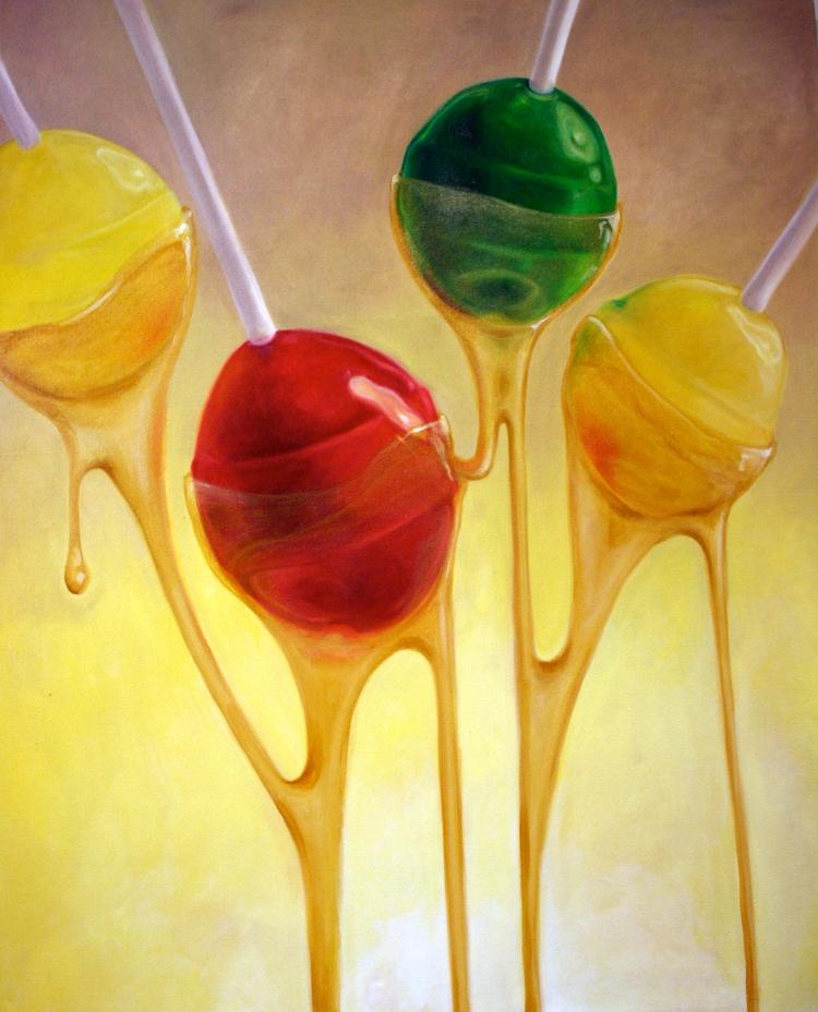 Luscious. oil canvas, 46x56, 20 - jordanillustrates | ello