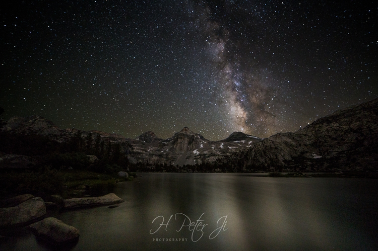 Night fell Rae Lakes. dropped t - scorpioonsup | ello