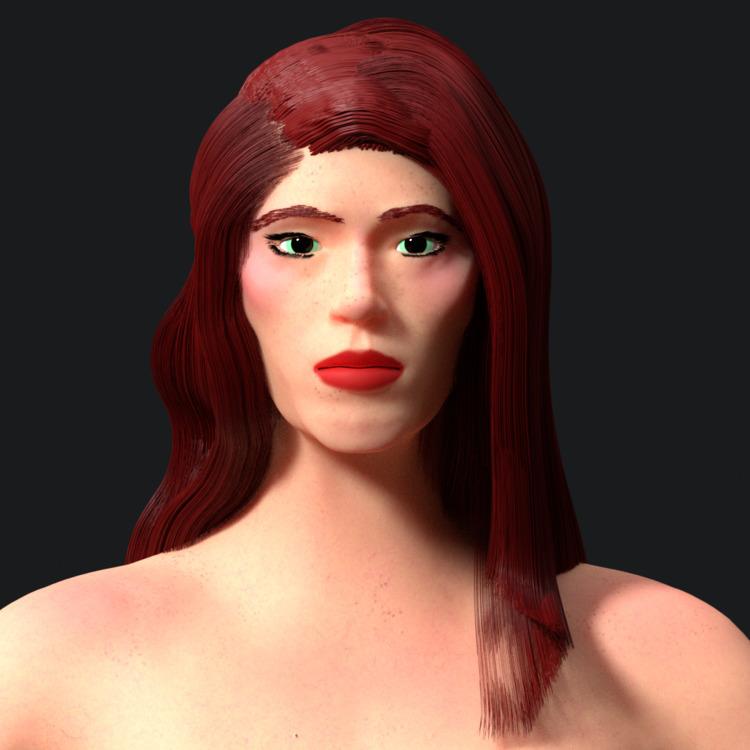 Character design practice - woman - solutuminvictus | ello