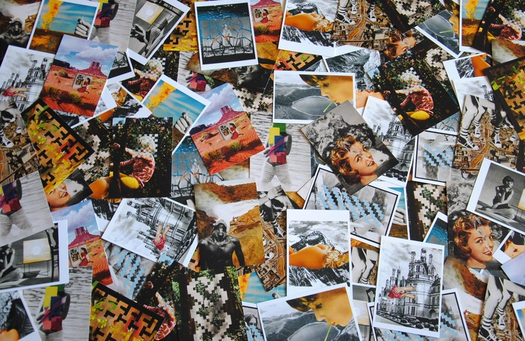 collection postcards collages  - claire_martine_ | ello