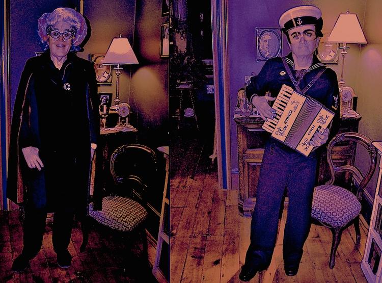 Halloween 2017 Dame Edna Timmy  - earlaccordionist | ello