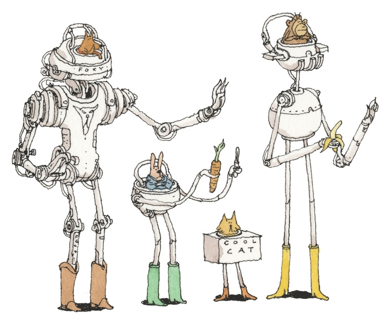 Cybernetic mammals, Etsy shop - mattiasadolfsson | ello