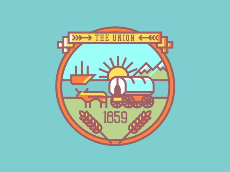 Oregon Crest (258/365 - darumacreative | ello