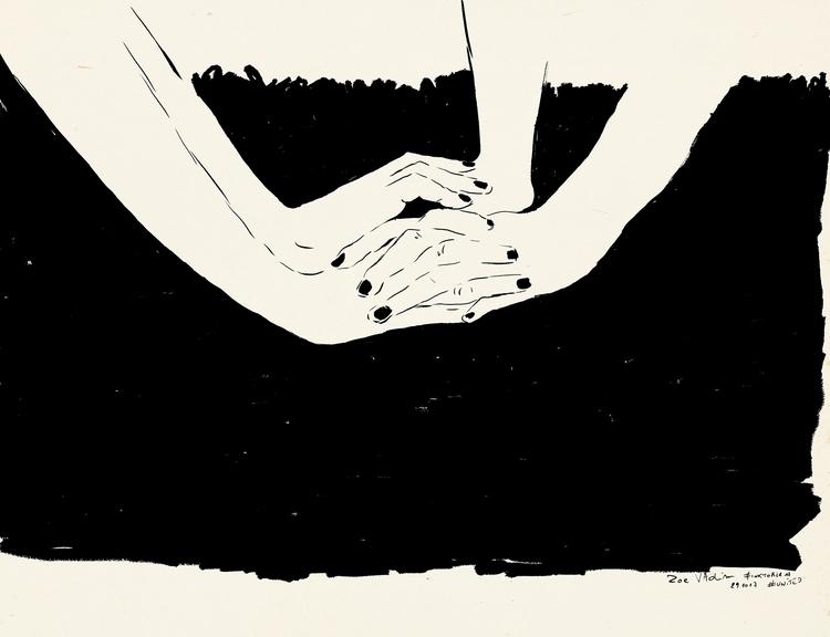 united, illustration, inkwork - zoe_vadim | ello