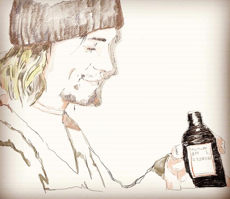 Kurt Cobain artwork - kurtcobain - zoe_vadim   ello