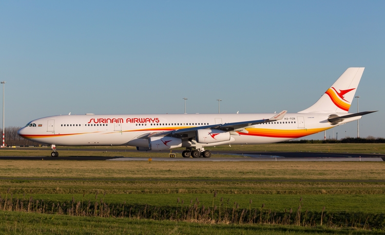 surinamairways, airbus, a340 - mathiasdueber | ello