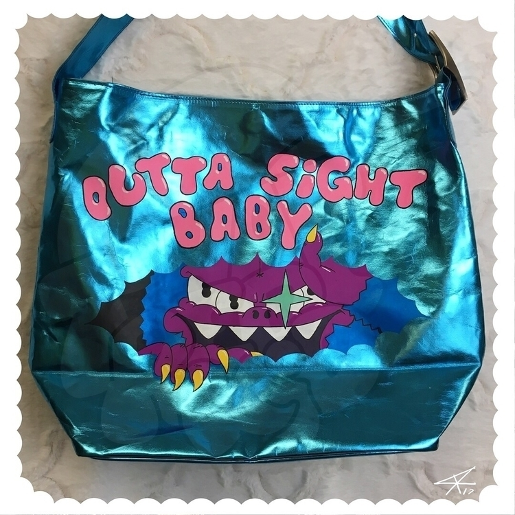 custom bag! glows dark high qua - thatredkid | ello