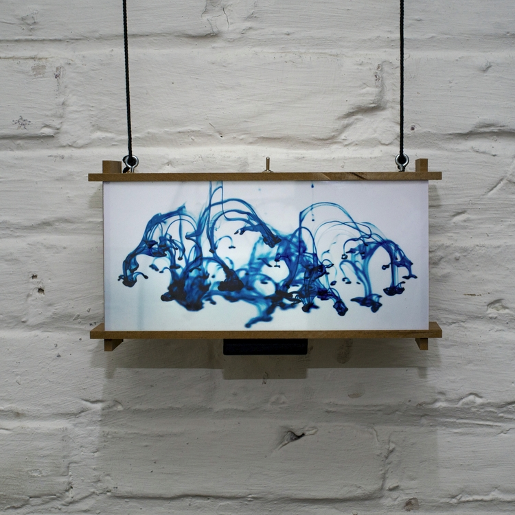 , 2017 - lightbox, lights, art, Wasserspiele - przemeknowak | ello