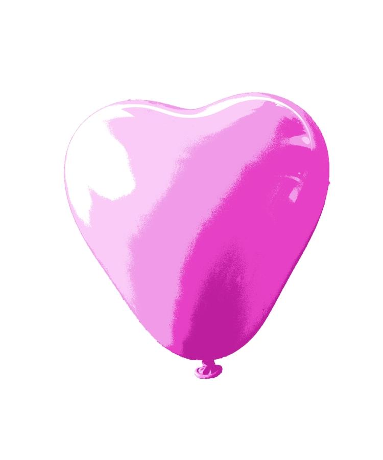 balloon heart/stencil collab Ba - balloonski   ello