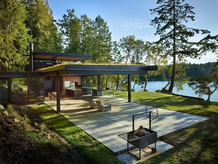 Pole Pass Retreat Olson Kundig  - thetreemag | ello