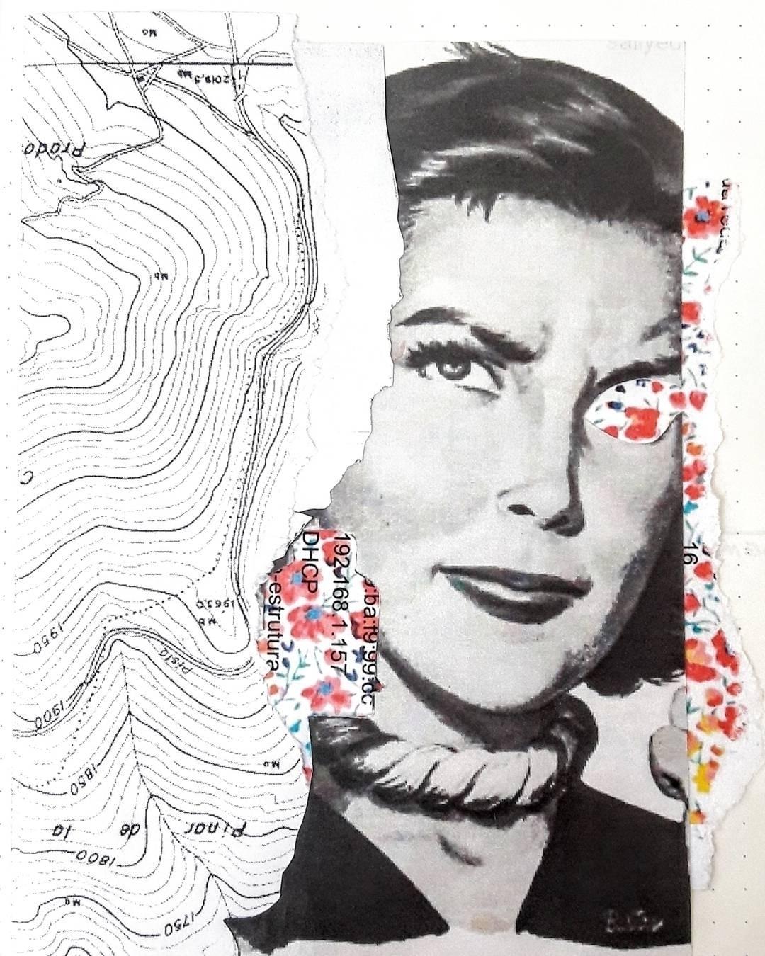Handmade paper - collage - juareztanure | ello