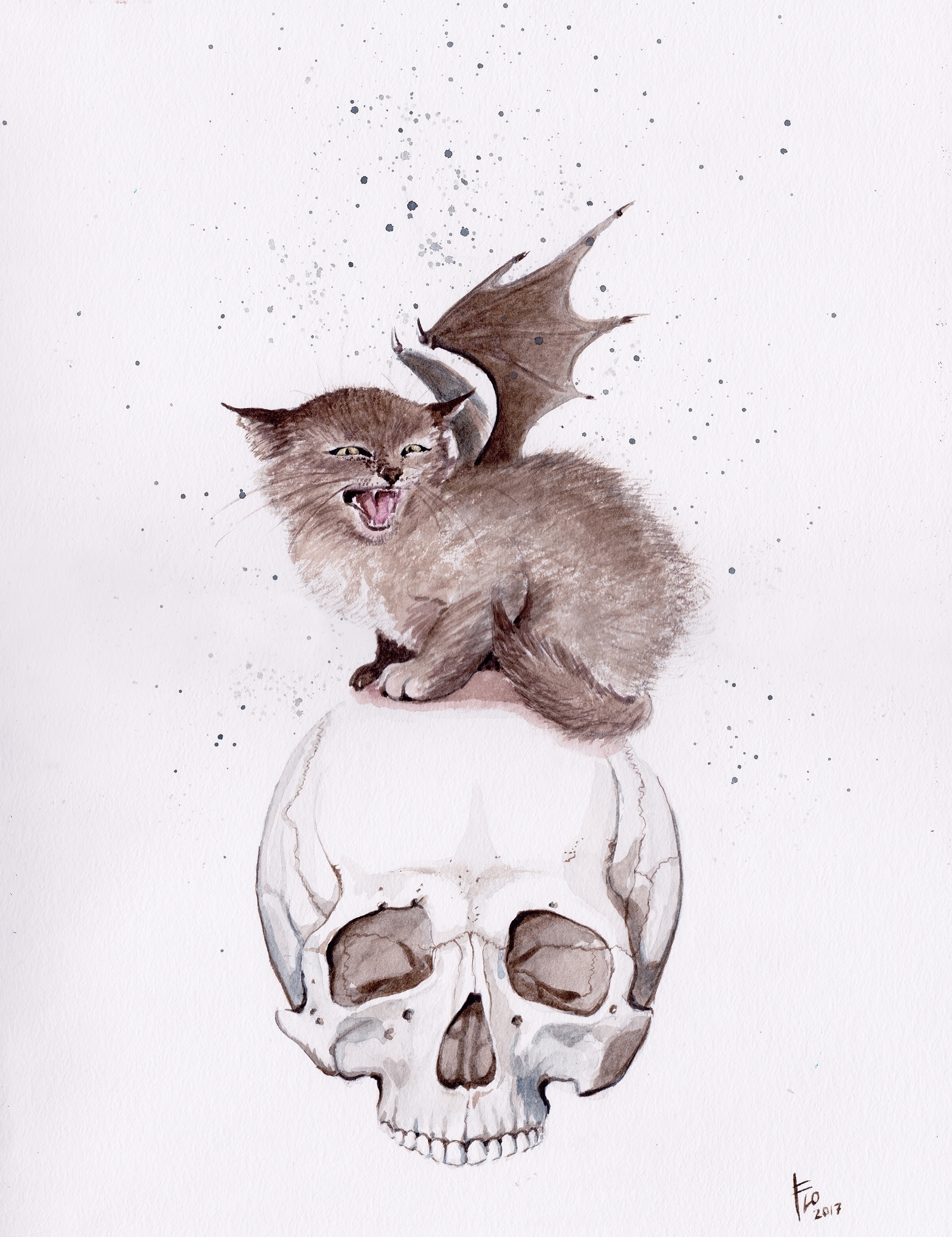 Bat Cat work pop show SALE! Pos - flolmi | ello