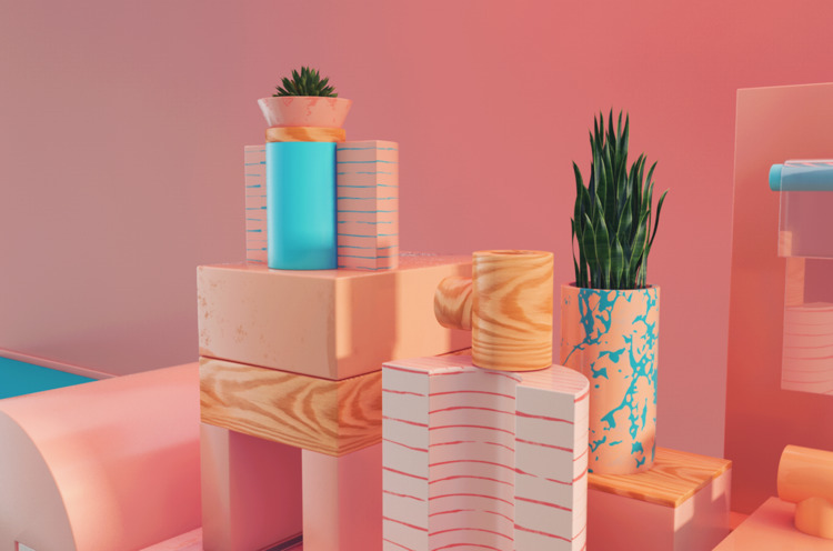 playful, set, render, colorful - electrabyelectra | ello