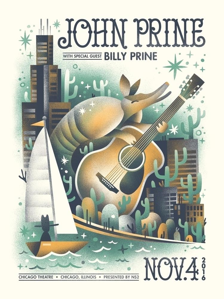 John Prine poster year - arenvandenburgh   ello