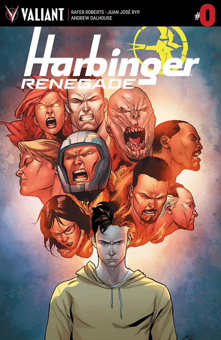 Harbinger Renegade Preview esse - comicbuzz | ello