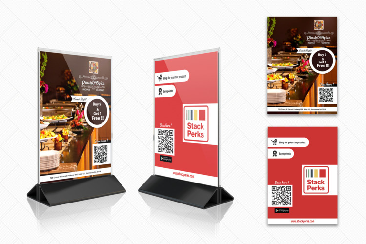 Restaurant standee design - noviraj | ello