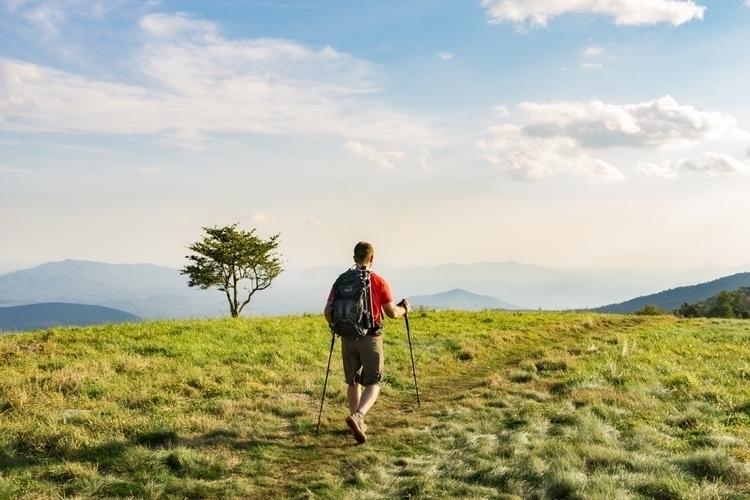 Summit Hiker Views layered moun - joetheeskimo | ello