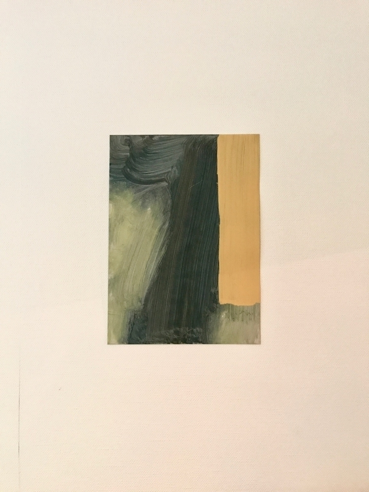 Acrylic cardboard - abstractpainting - ronvic | ello