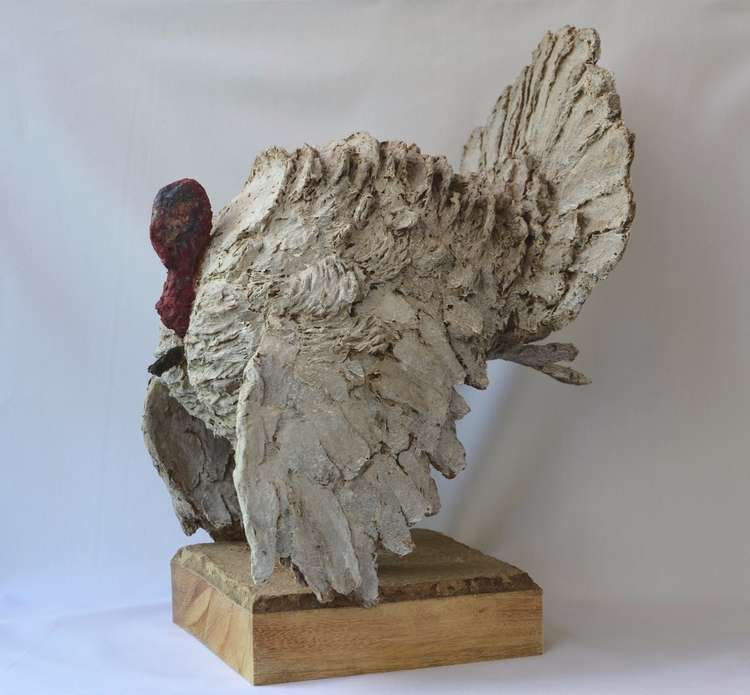 THANKSGIVING TURKEY , SOLID REC - barakesculptor | ello