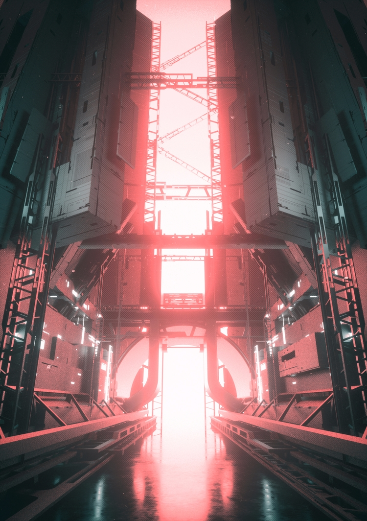 FACTORY// Day 808 - cinema4d, c4d - fvckrender | ello