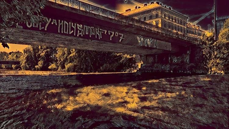 Hauptbrücke Graz Austria neben  - marcstipsits | ello
