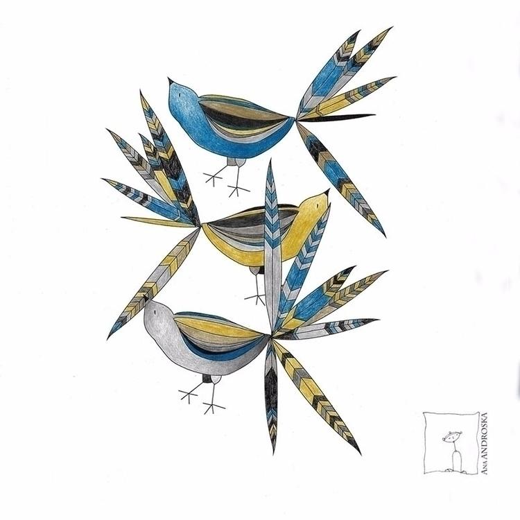 musketeers, drawing Ana Androsk - anaandroska | ello