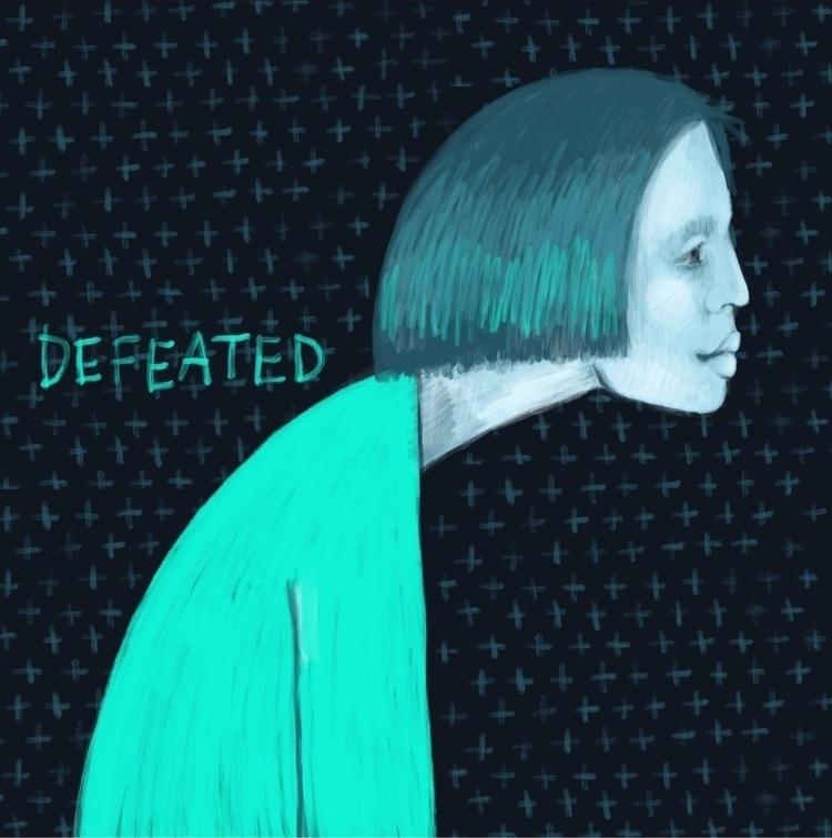 Defeated - art, illustration, myworld - amika14 | ello