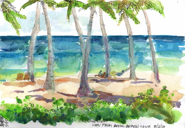 - View Bohol Beach Club paintin - artchapenjoin | ello