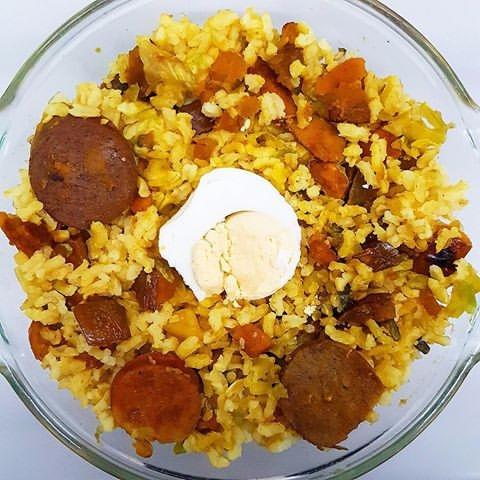 , Plate Challenge - FriedBrownRice - vicsimon | ello
